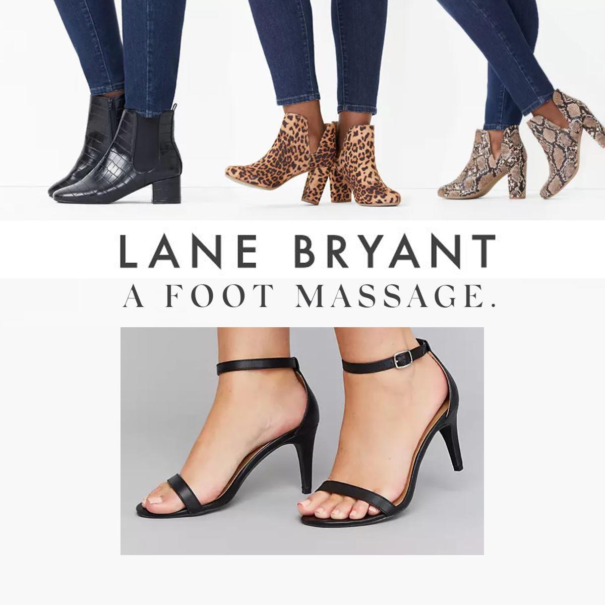 Lane Bryant Women S Wide Shoes Size Chart Shoes Sandals Flats